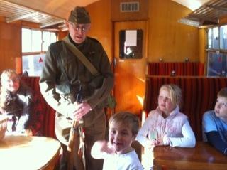 Nene Valley Railway 1940's weekend. Picture 2