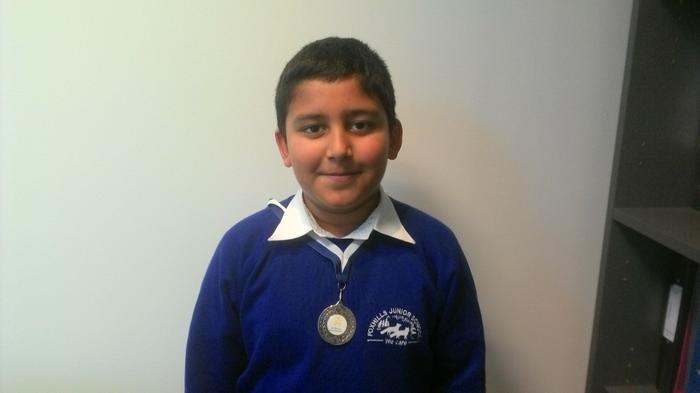 Ajay - 3KR -Running medal