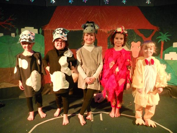 Our 'Wriggly Nativity' - we had great fun!