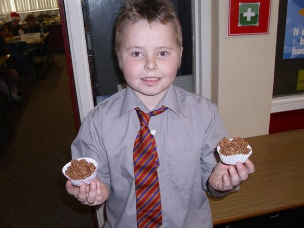 Ethan Bakes For The Class-DELICIOUS!!