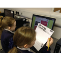 using information online to help with the answers