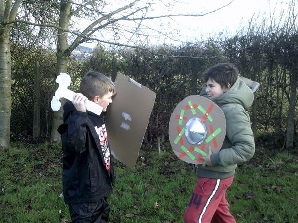 Anglo-Saxon/Viking Battle