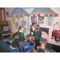 Reading Areas around the school