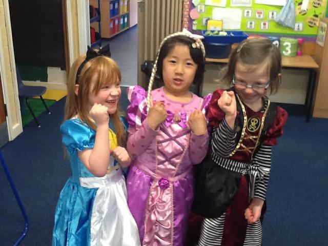 Success to the princesses!