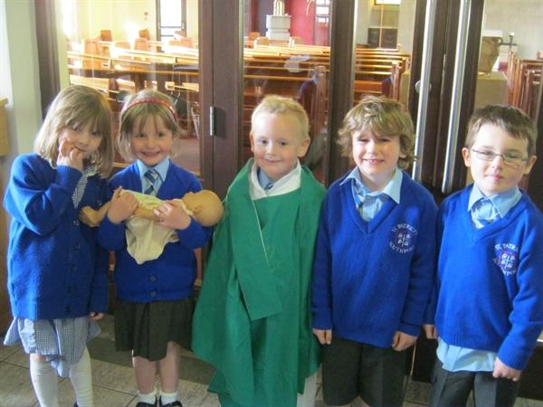Our class Baptism.