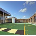 Secondary rooftop playground