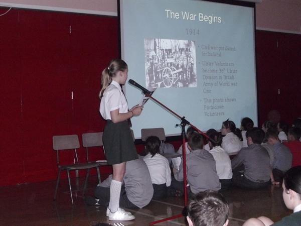 Portadown At War Powerpoint-Assembly