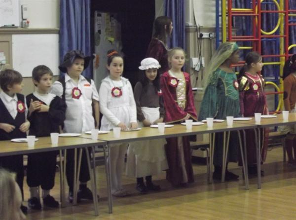 Year 4 Tudor Banquet