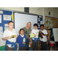 Wild Futures visiting Year 4 and Year 5