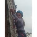 Climbing to glory!