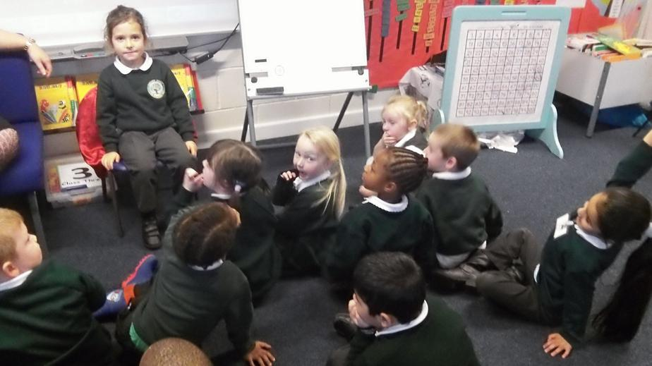 Hot seating the Little Red Hen