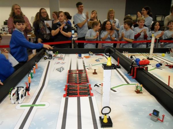 First Lego League senior Solutions Challenge