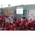Our brilliant Waste Week Assembly!