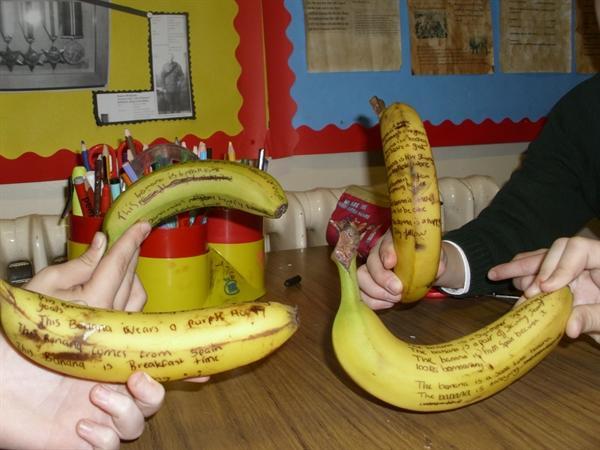 WORLD BOOK DAY - Bananas!!