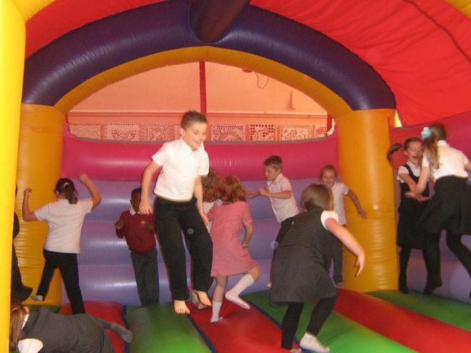 Bouncy castle reward day