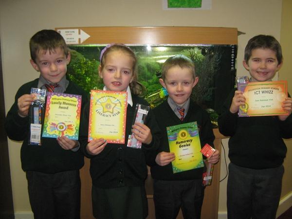 January Prize Winners!!