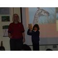 Giraffe vertebra