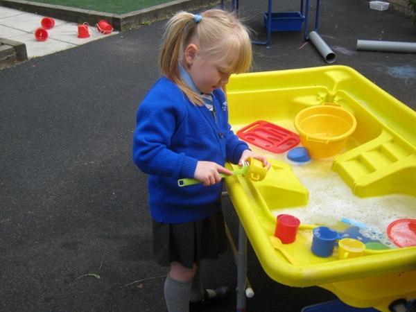 Water play is fun!