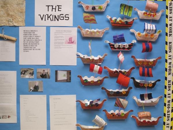 Our Viking Wall Display