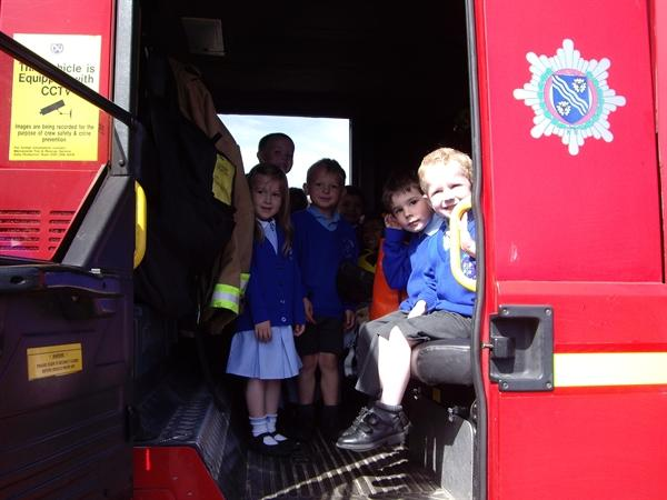 A visit from the Firemen