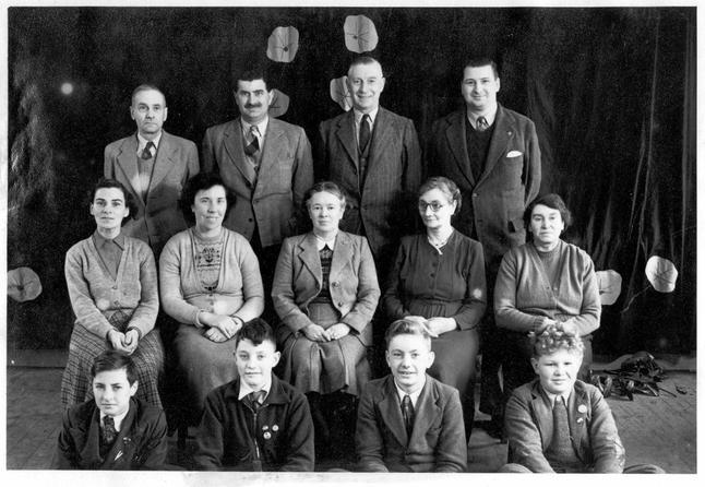 1952 staff