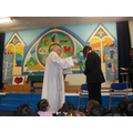 Mrs Pritchard became our headteacher