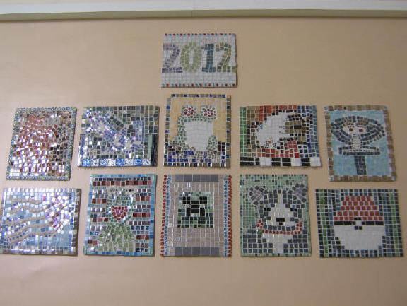 2012 Mosaics