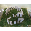 Our Stonehenge models.