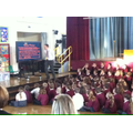 KS2 finding out about the spooky happenings