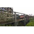 Linear wooden rollercoaster