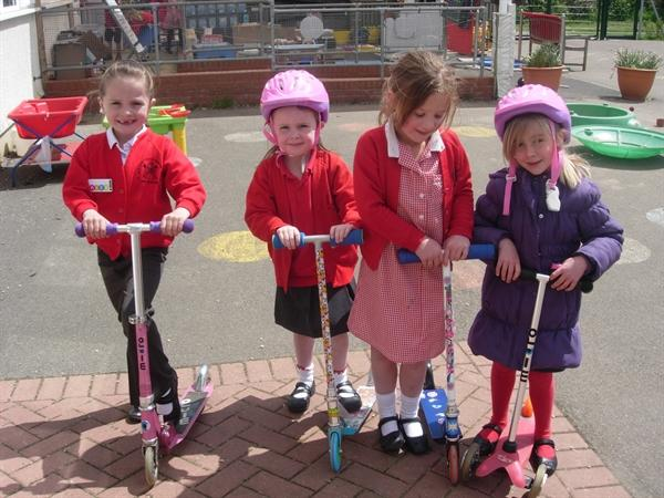 Learning to keep safe when crossing the road