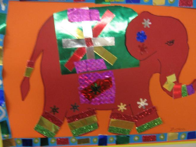 Year 3/4 elephant