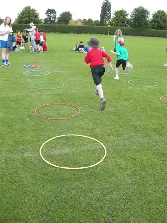 Fun and action at the multi skills festival