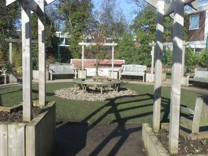 Our 'Dream Garden' designed by the children