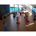 Learning Bollywood Dancing