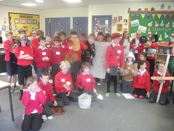 Miss Hosmer's Tudor Class