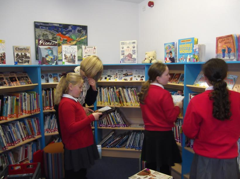 Browsing in the library