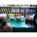 Exploring our new playdough-making station