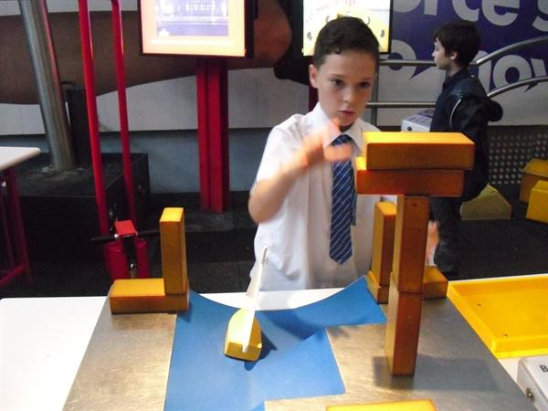 Lots of concentration needed for this challenge!