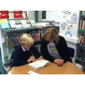Reading with our parent helpers