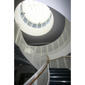 The central staircase at Golden Lane Campus