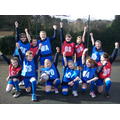 Our wonderful netball team!