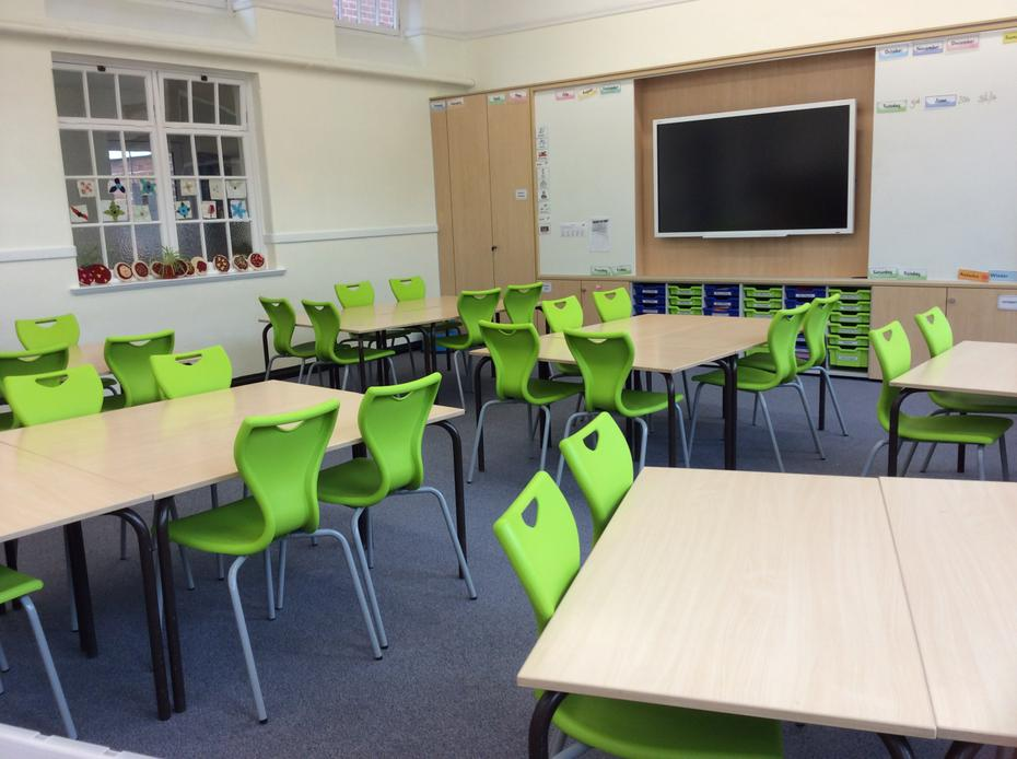 The learning wall and new touchscreen smartboard
