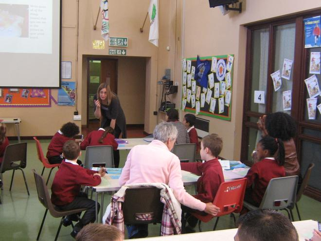 Writing workshops for year 3/4 parents