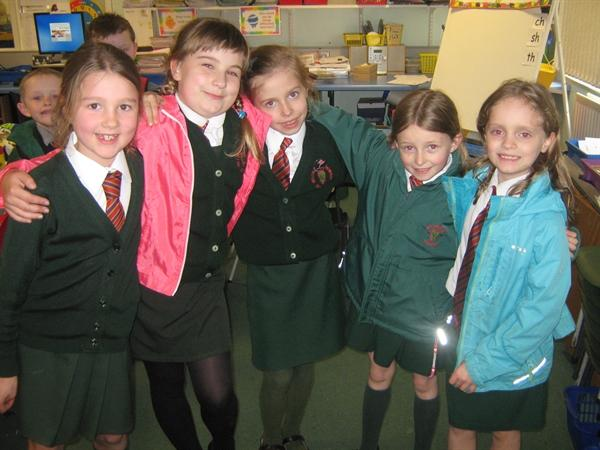 Mrs Hampton's Helpers.