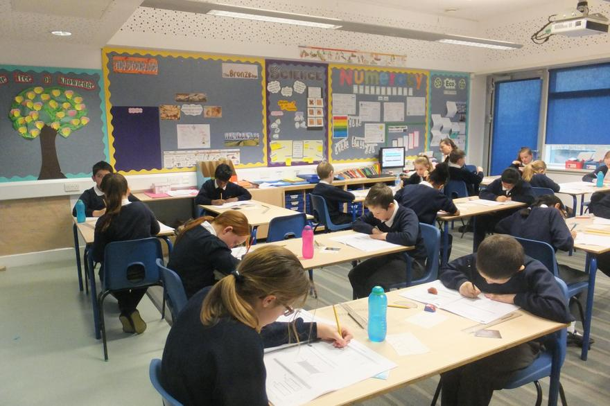 Focus and preparation informs Y6 work ethic