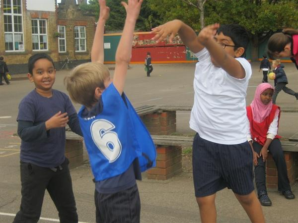 PE With Pupils From Gumley House School