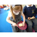 Tasting different types of bread
