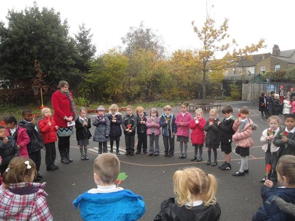 Year 1 Minute Silence