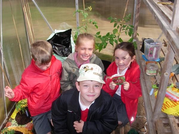 We love to garden